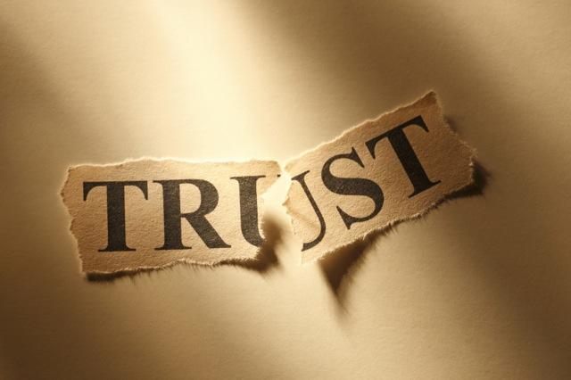 Image result for broken trust