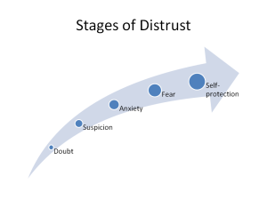 Stages of Distrust