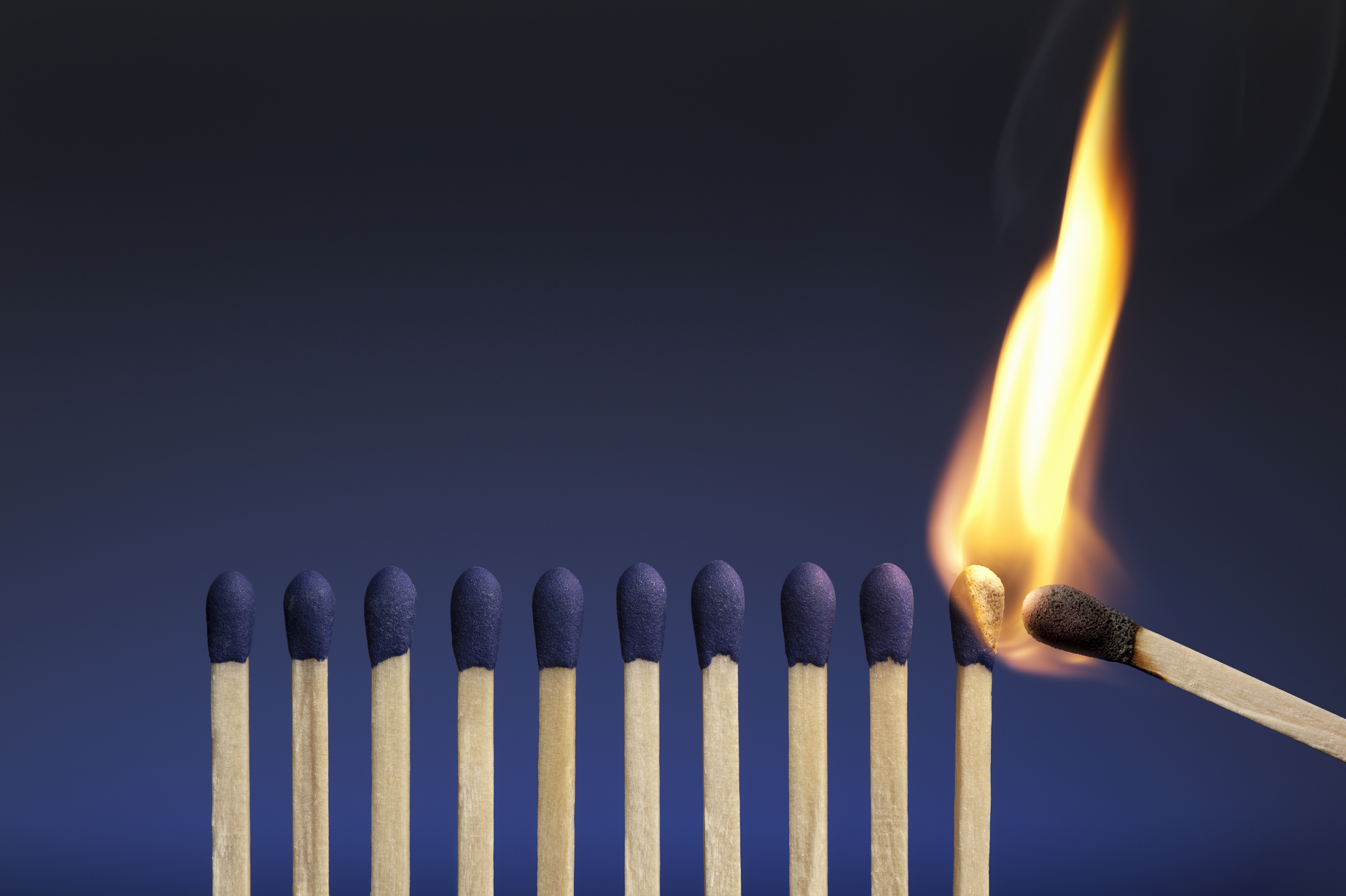 the question all leaders must ask themselves leading trust influence match sticks
